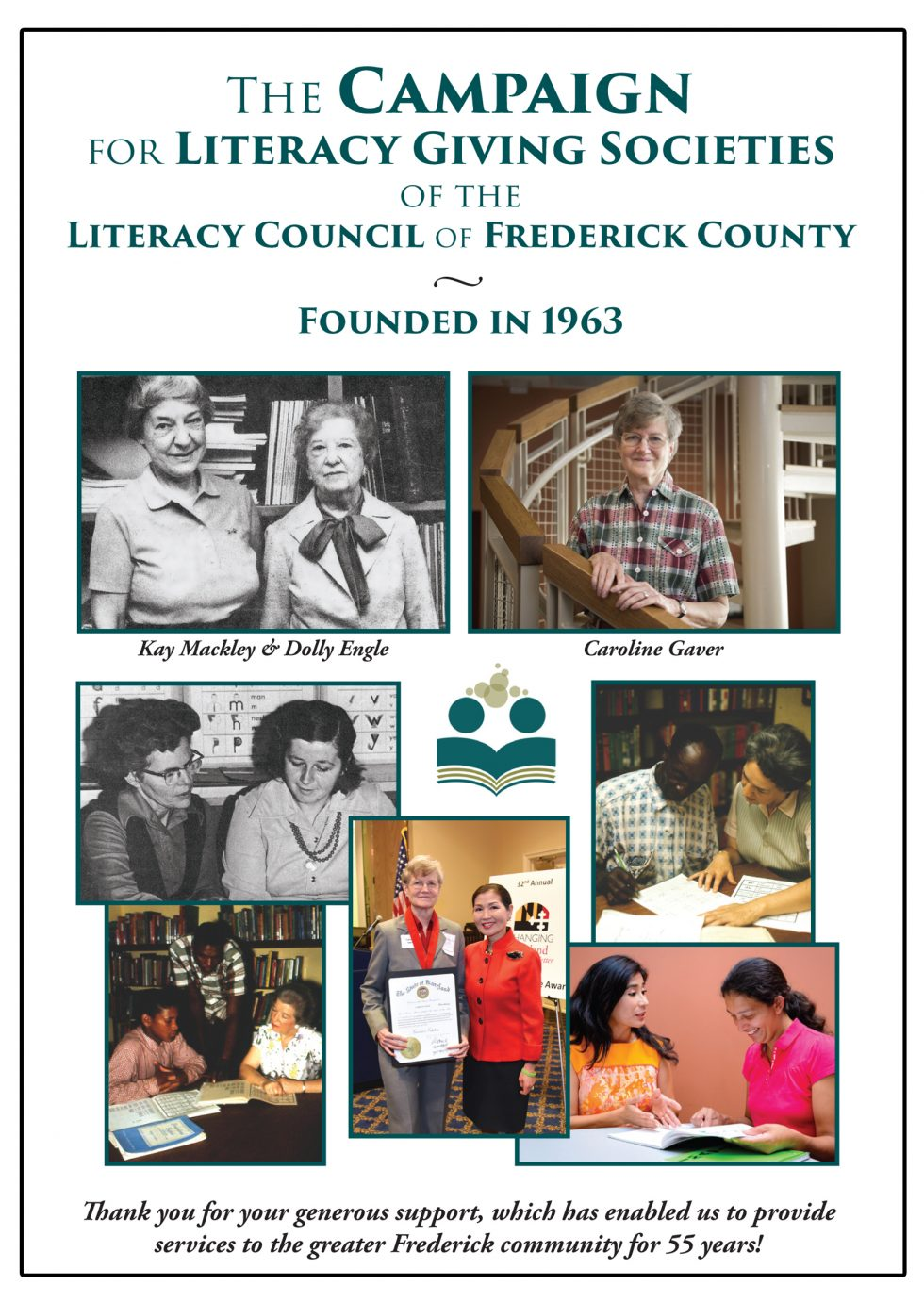 Giving Societies of the Literacy Council of Frederick County Announced at Special Reception