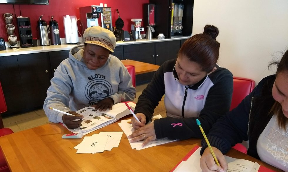 LCFC partners with Econo Lodge Frederick to offer workplace literacy classes.