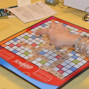 THANK YOU!! 4th Annual Scrabble© Mania for Literacy is a Success!
