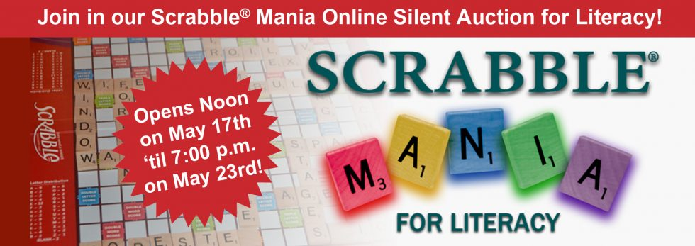 Scrabble® Mania Online Auction May 17-23