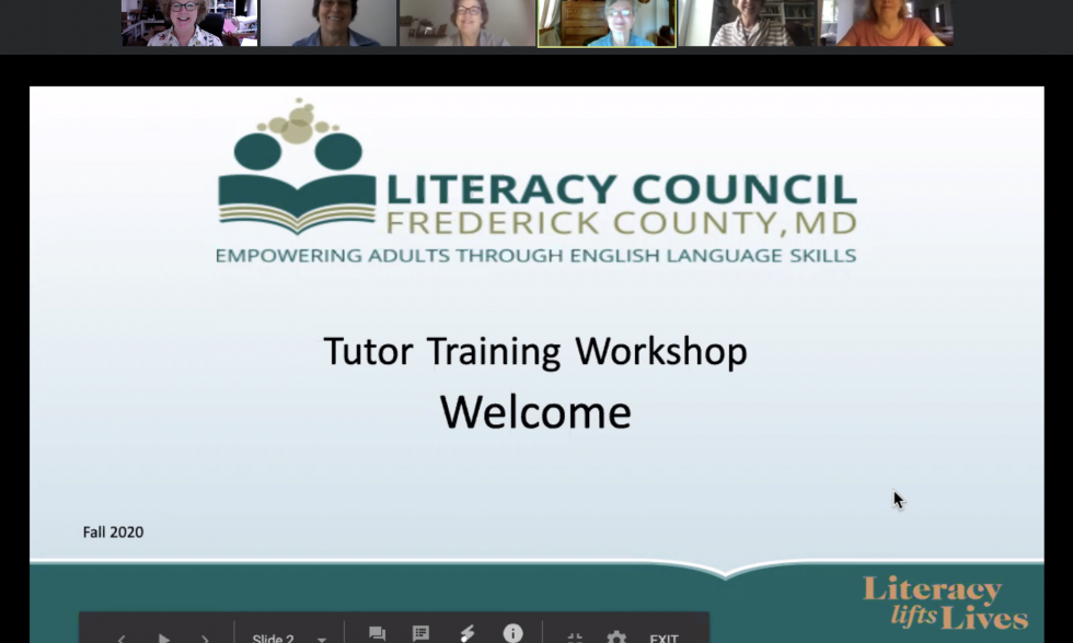 Tutor Training Goes Virtual!!