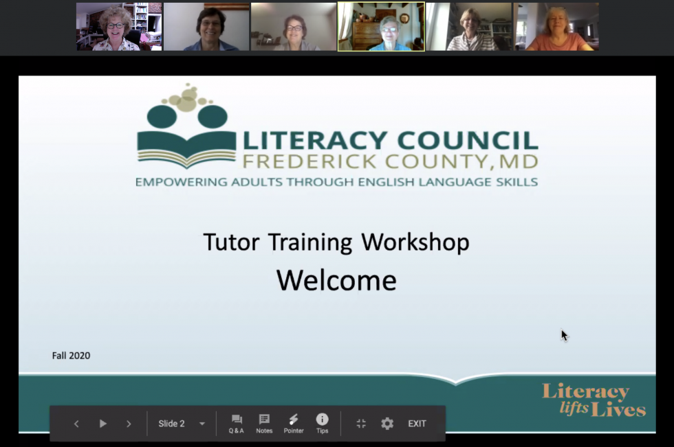 Tutor Training Goes Virtual!!